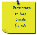 Domain for sale, domeinnaam te koop